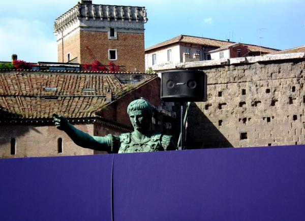 AU FEU, A DROITE ! - Rome 2010