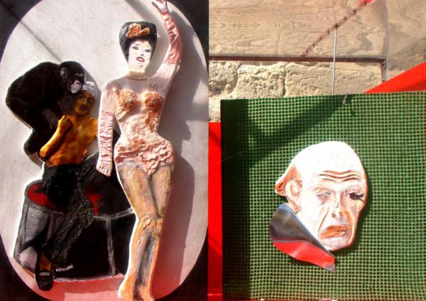 Le clown blanc gâche la fête - Arles 2009