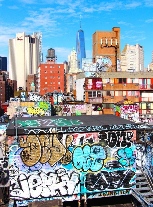 Hauts en couleurs - NYC 2014