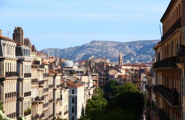 A perte, deux vues - Marseille 2013