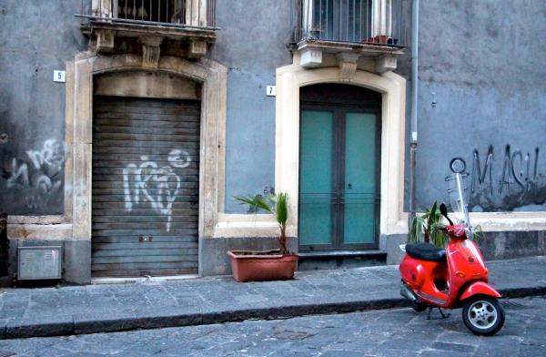 Le rouge et le noir - Sicile 2013
