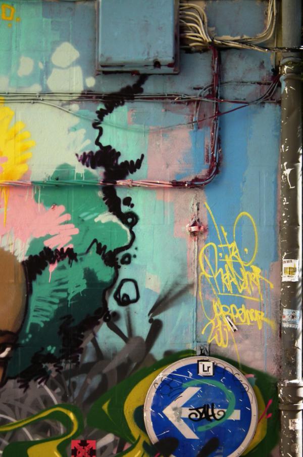 De Kooning's wall - Arles 2011