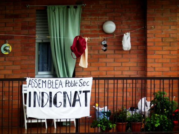 ON S'INDIGNE SEC  ! - Barcelone 2011
