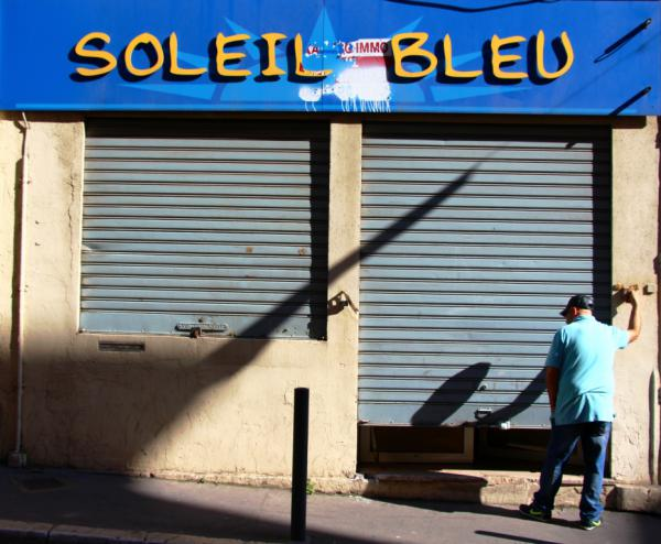 Soleil bleu - Marseille 2013