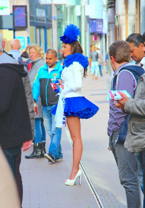 Flamande rose (et bleue) - La Haye 2014