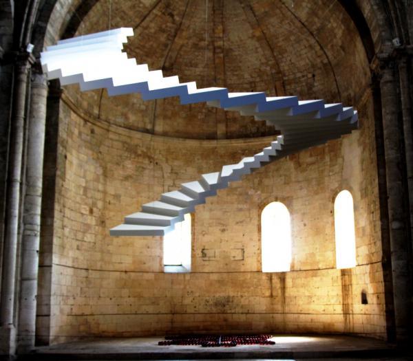 Escalier volant - Arles 2013