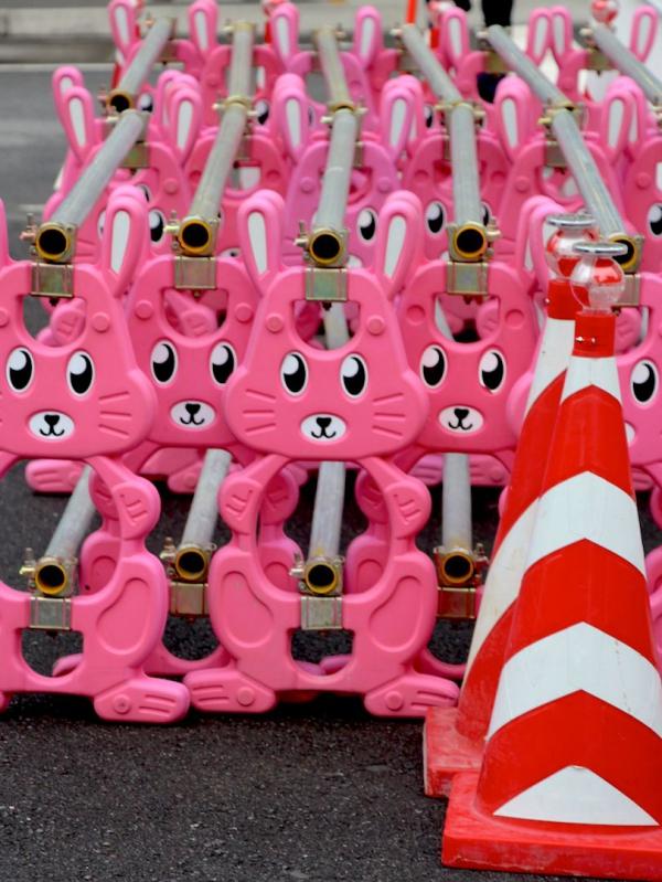 Pots de lapins - Tokyo 2013