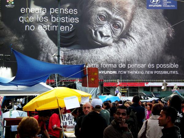 JE REGARDE, DONC JE PENSE - Barcelone 2011
