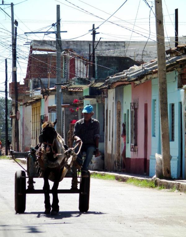 El hombre y la maquina - Cuba 2012
